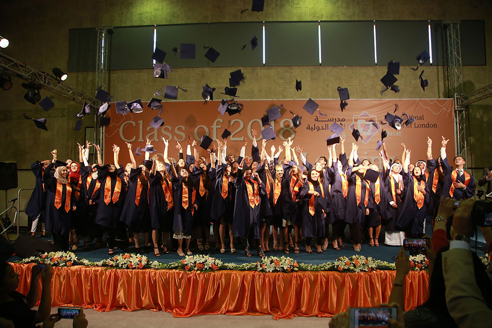 ISL Qatar celebrates the graduation of 55 students in the Class of 2018
