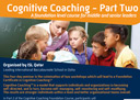 Cognitive Coaching Workshop - Part Two